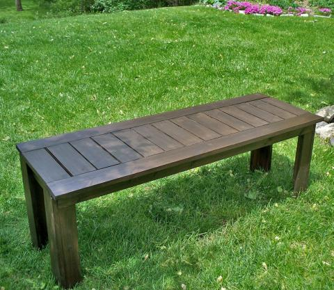 simple garden bench diy