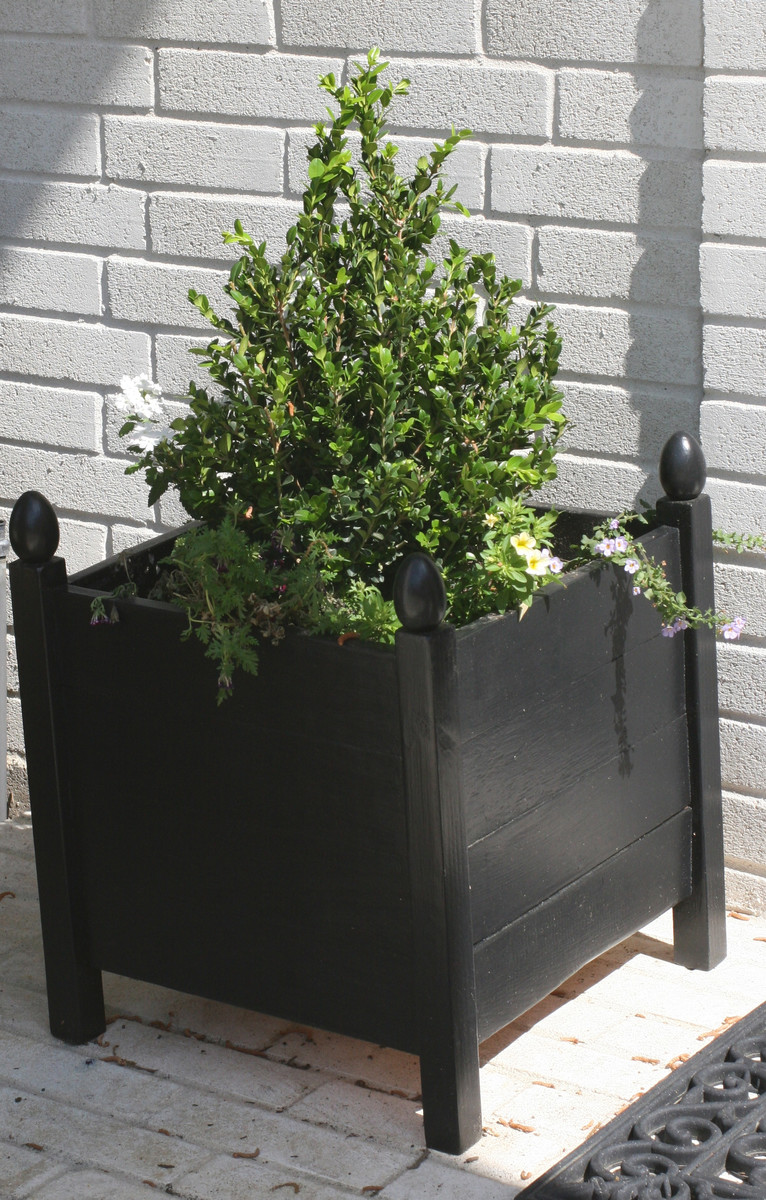 ana white  square planters with finials  diy projects - an error occurred