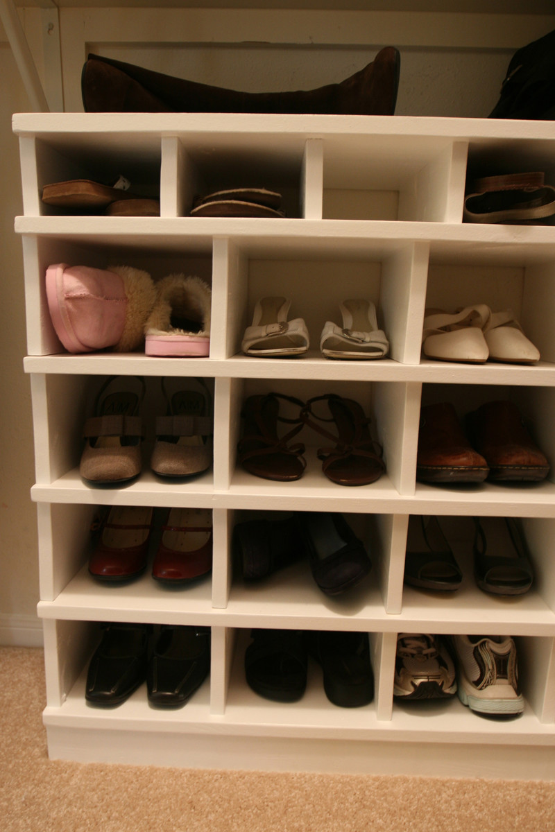 Ana White Shoe Organizer Diy Projects