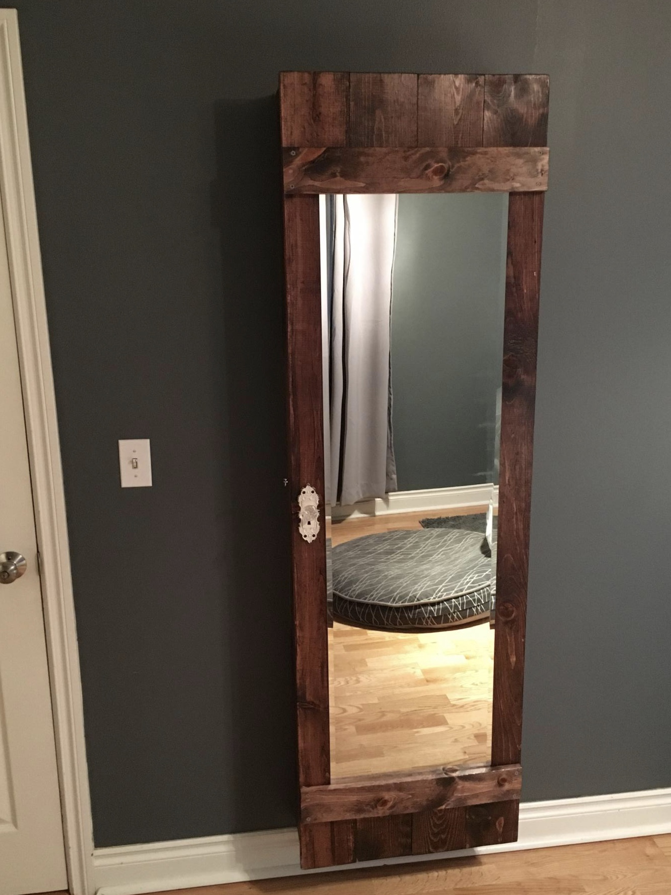Barn Door Mirror Shadow Box Ana White