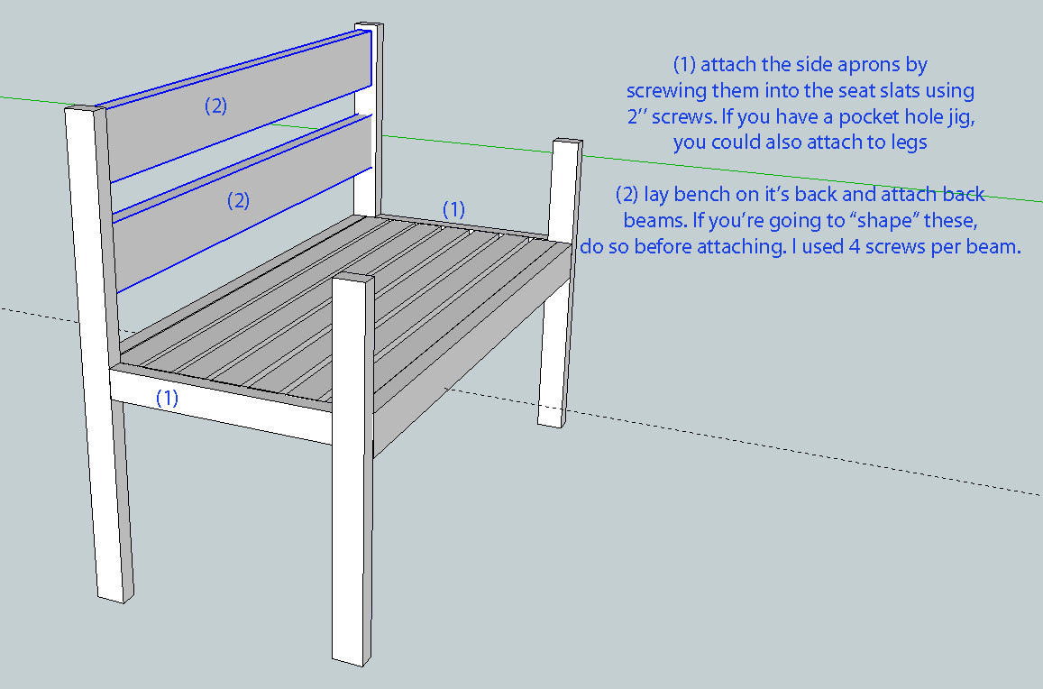 Bench Plans With Back