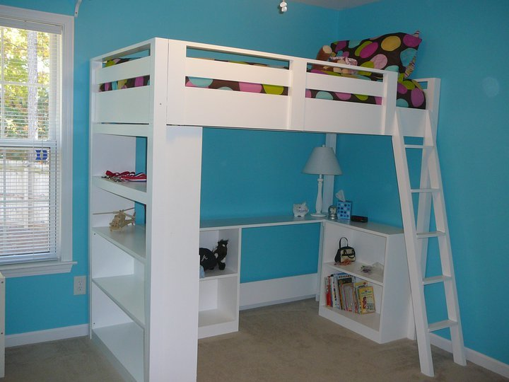 twin size loft bed plans