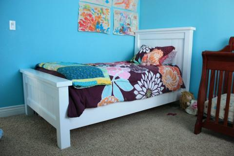 twin bed plans diy