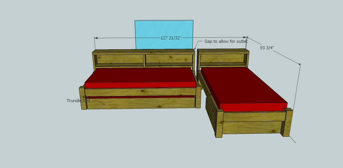 ... bed with trundle diy bed frame plans 2x4 bunk bed plans how to make