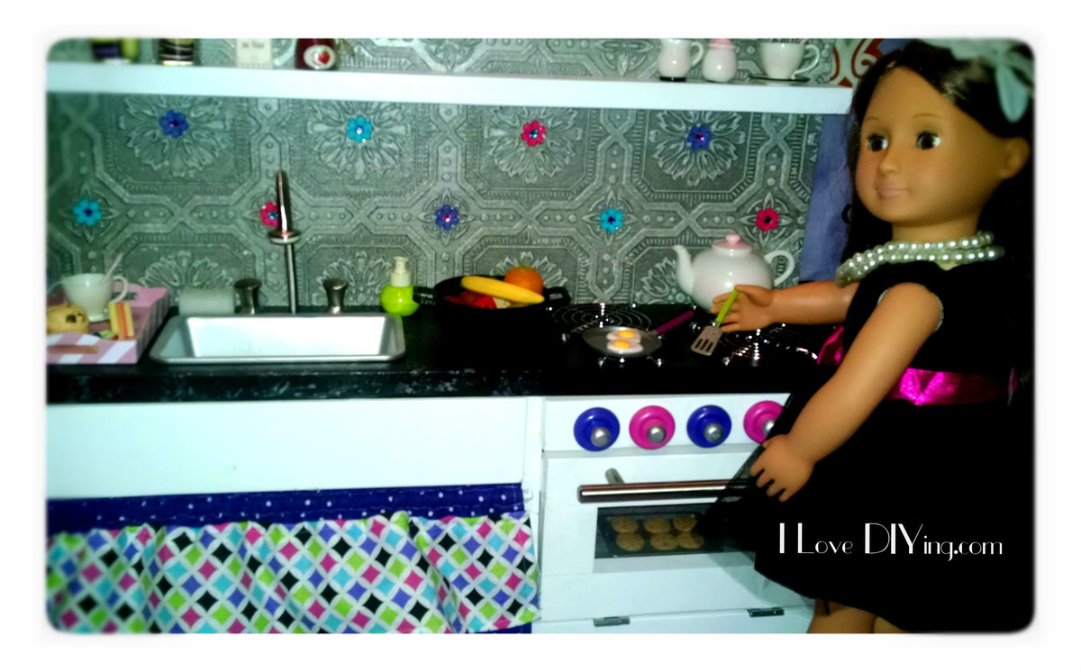 Ana White American Girl Doll Sized Kitchen Diy Projects