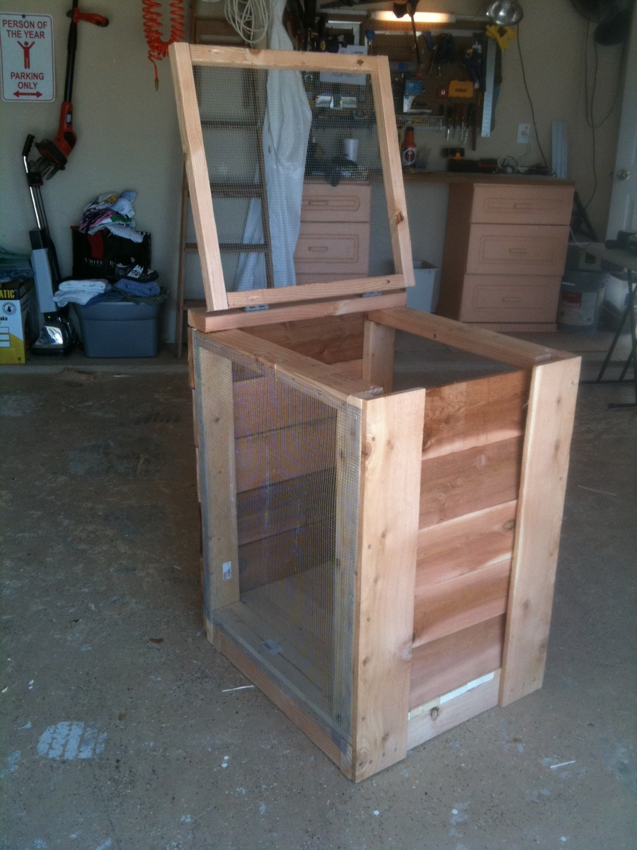 compost bin ana white woodworking projects. Black Bedroom Furniture Sets. Home Design Ideas