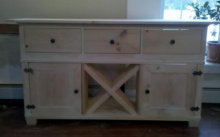 How To Build A Buffet Cabinet