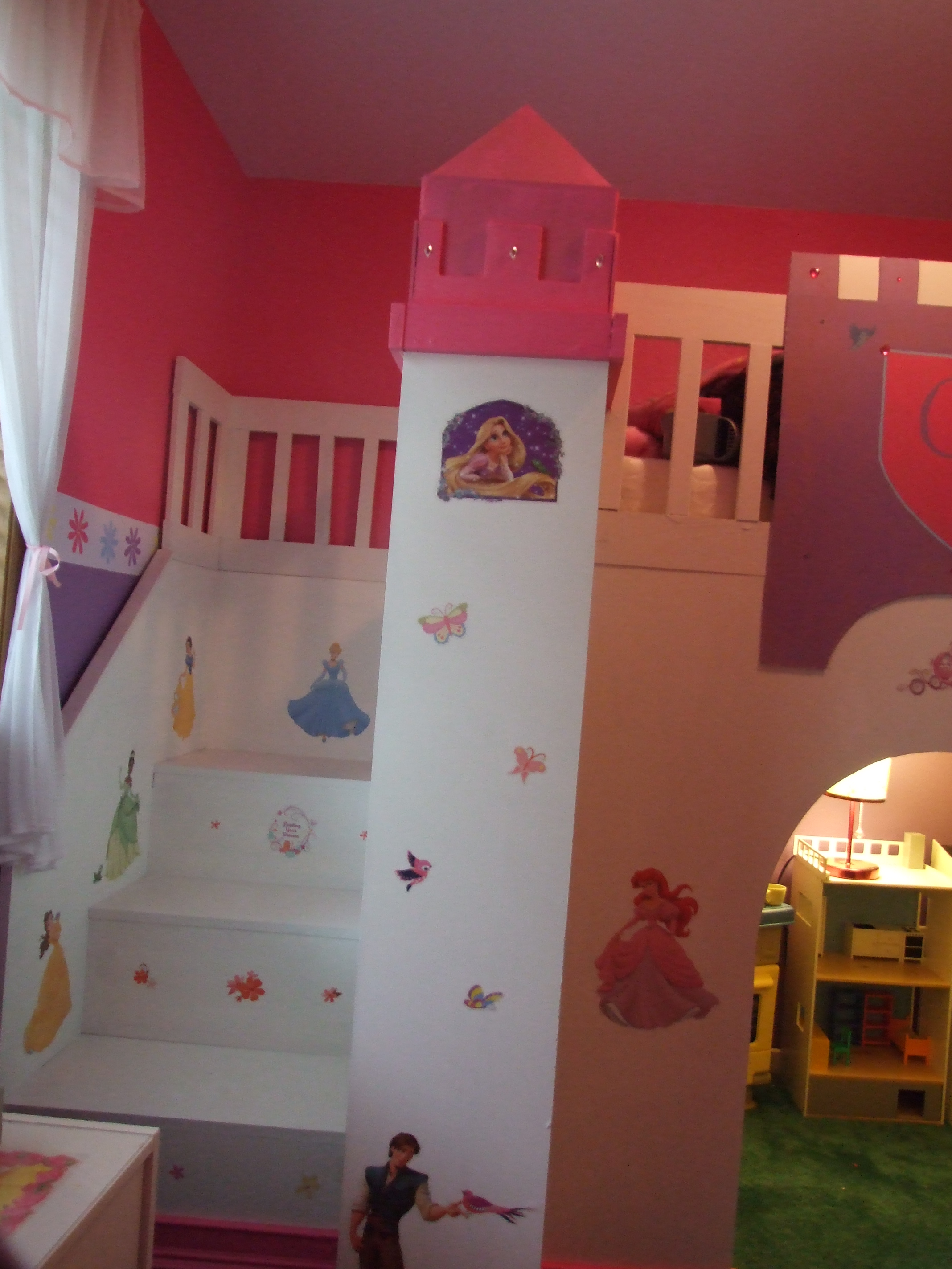 Ana White | Princess Play Loft Bed - DIY Projects