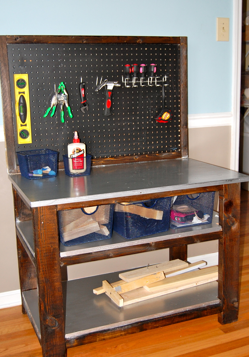 Ana White Bigger Kids Workbench Diy Projects