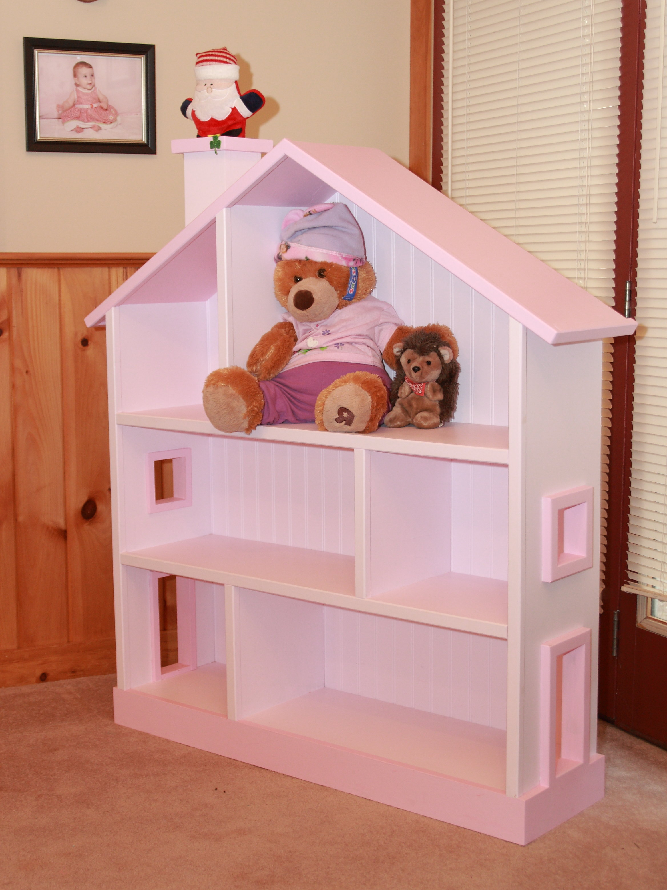 Bookcase Dollhouse Plans Woodworking Plans