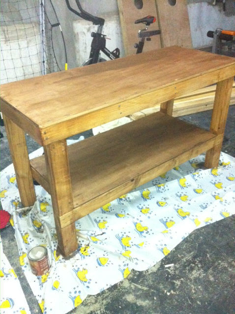 Simple Wood Workbench Plans | Search Results | DIY Woodworking ...