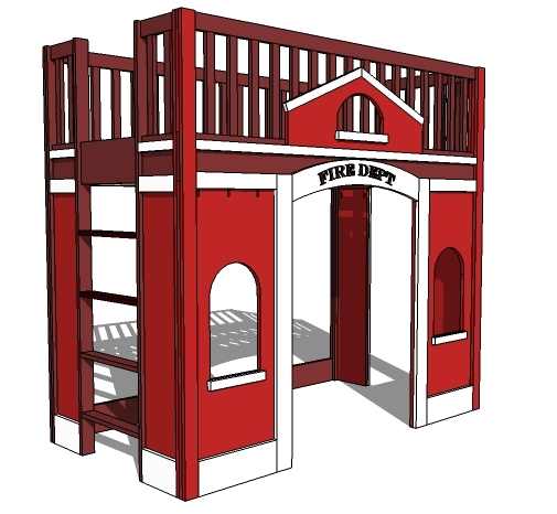 Fire Truck Bed Plans