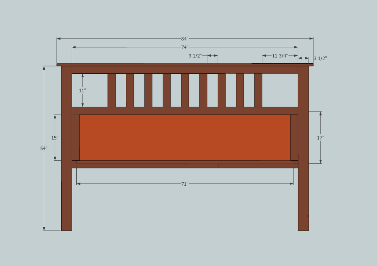 Headboard Plans Queen Size