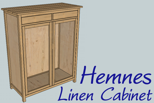 plans for linen cabinet