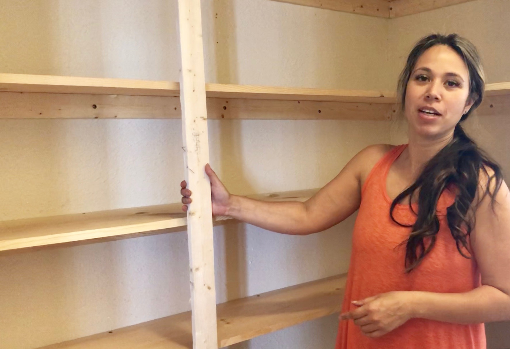 easy pantry shelving