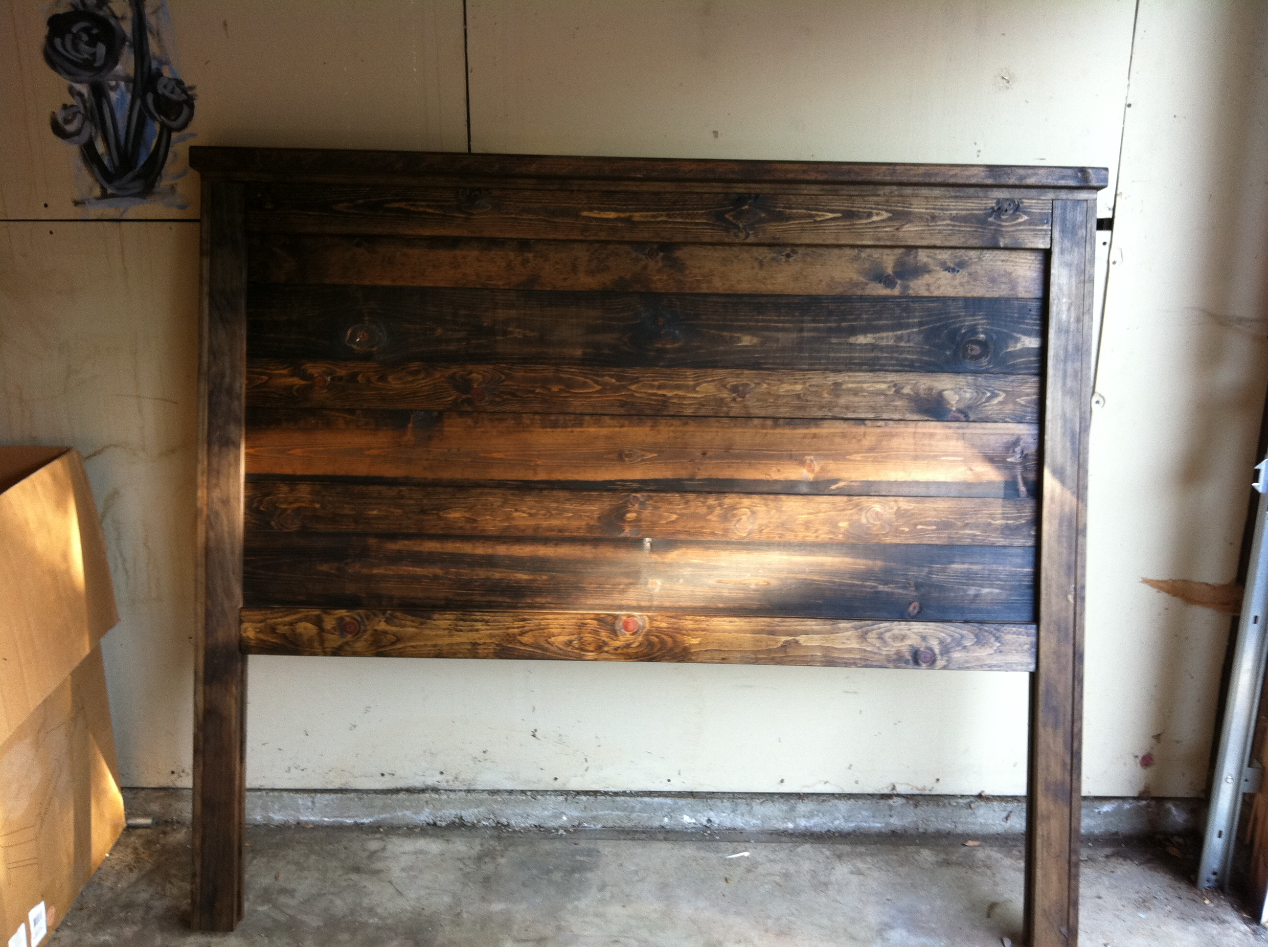 Ana White Reclaimed Queen Wood Bed Diy Projects