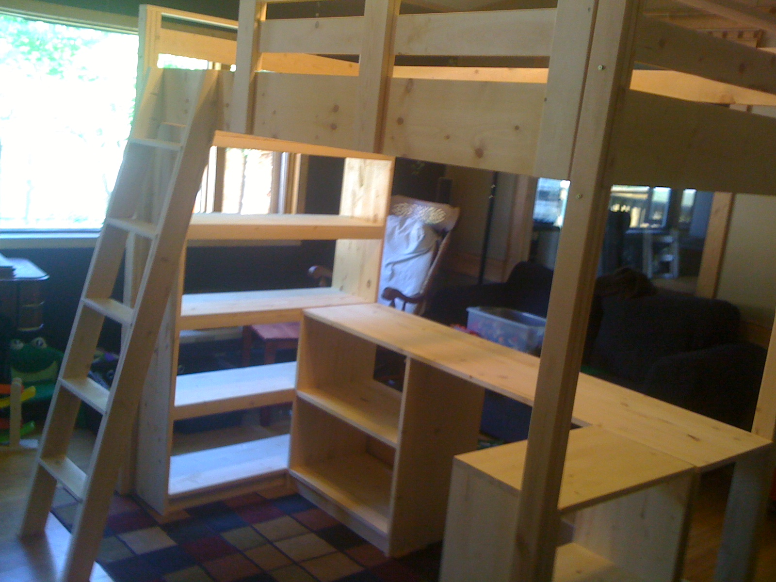Ana White | Claire's Loft Bed - DIY Projects