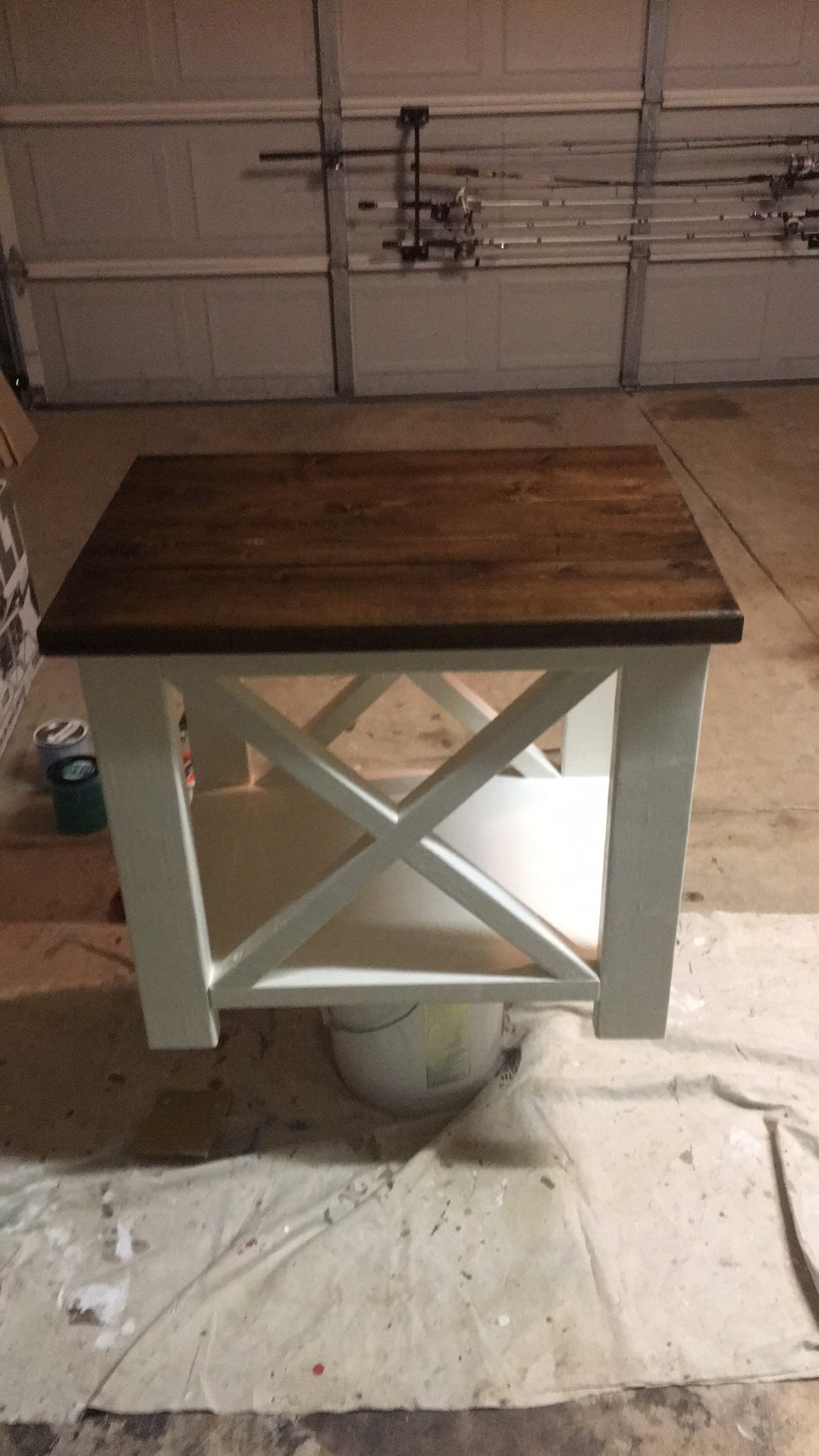 Rustic Coffee Table With Matching End Table