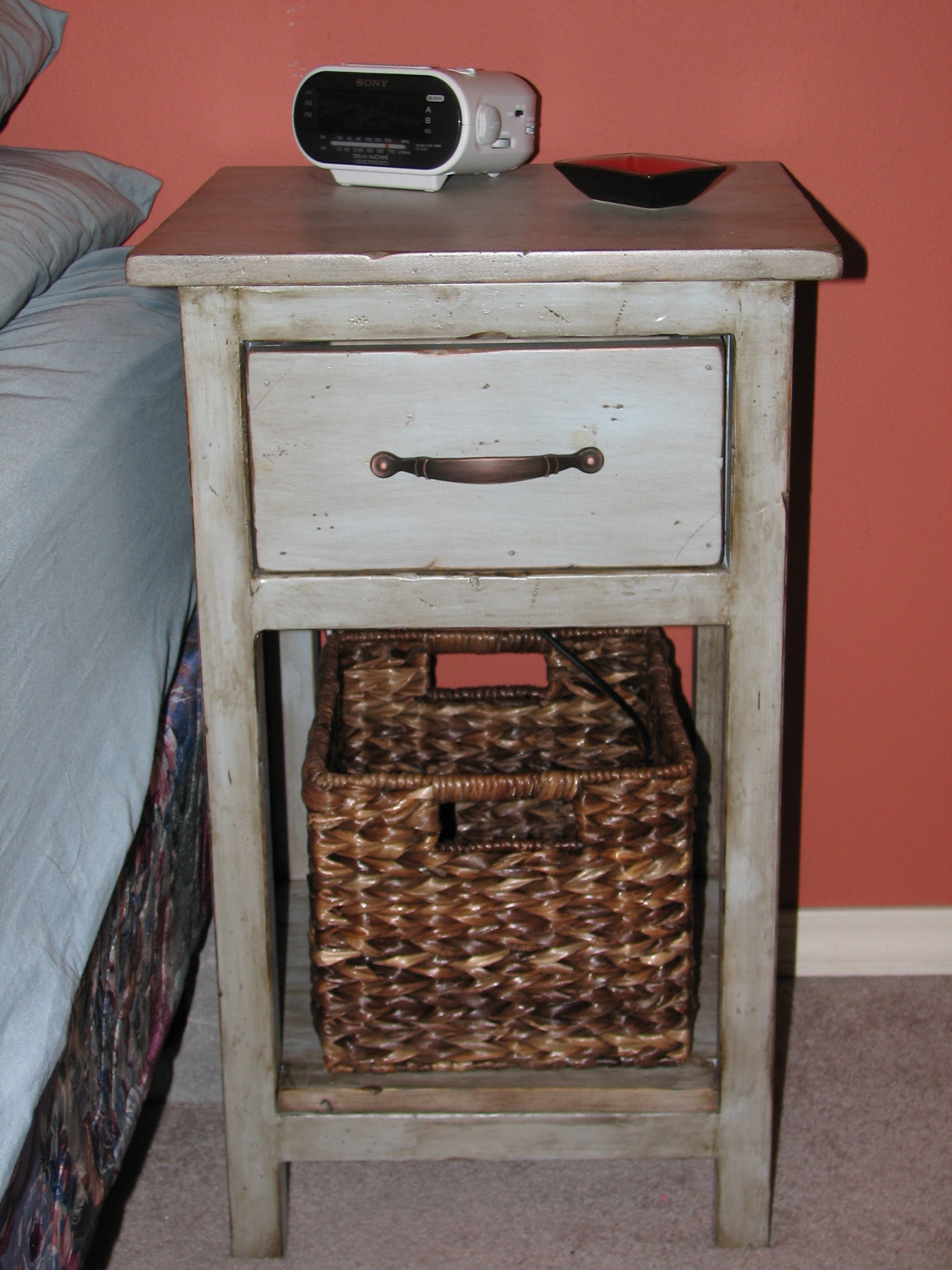 Ana White Farmhouse Bedside Table
