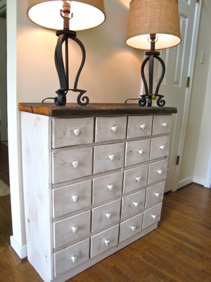 Ana White Apothecary Console Table From Pallets Diy