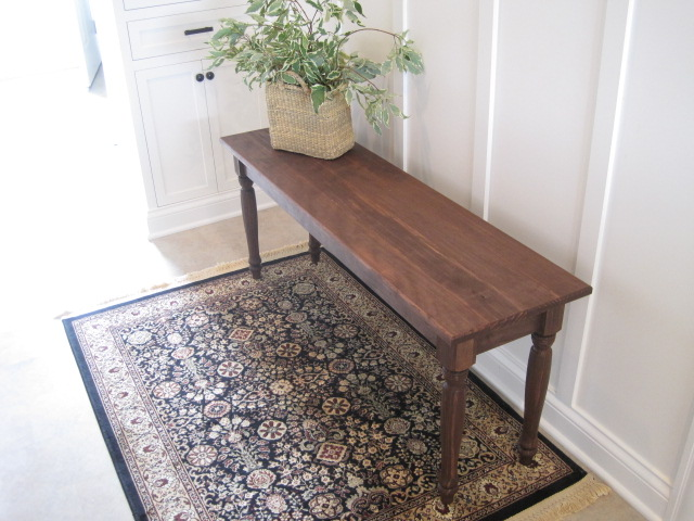 Pottery Barn inspired Bench Ana White