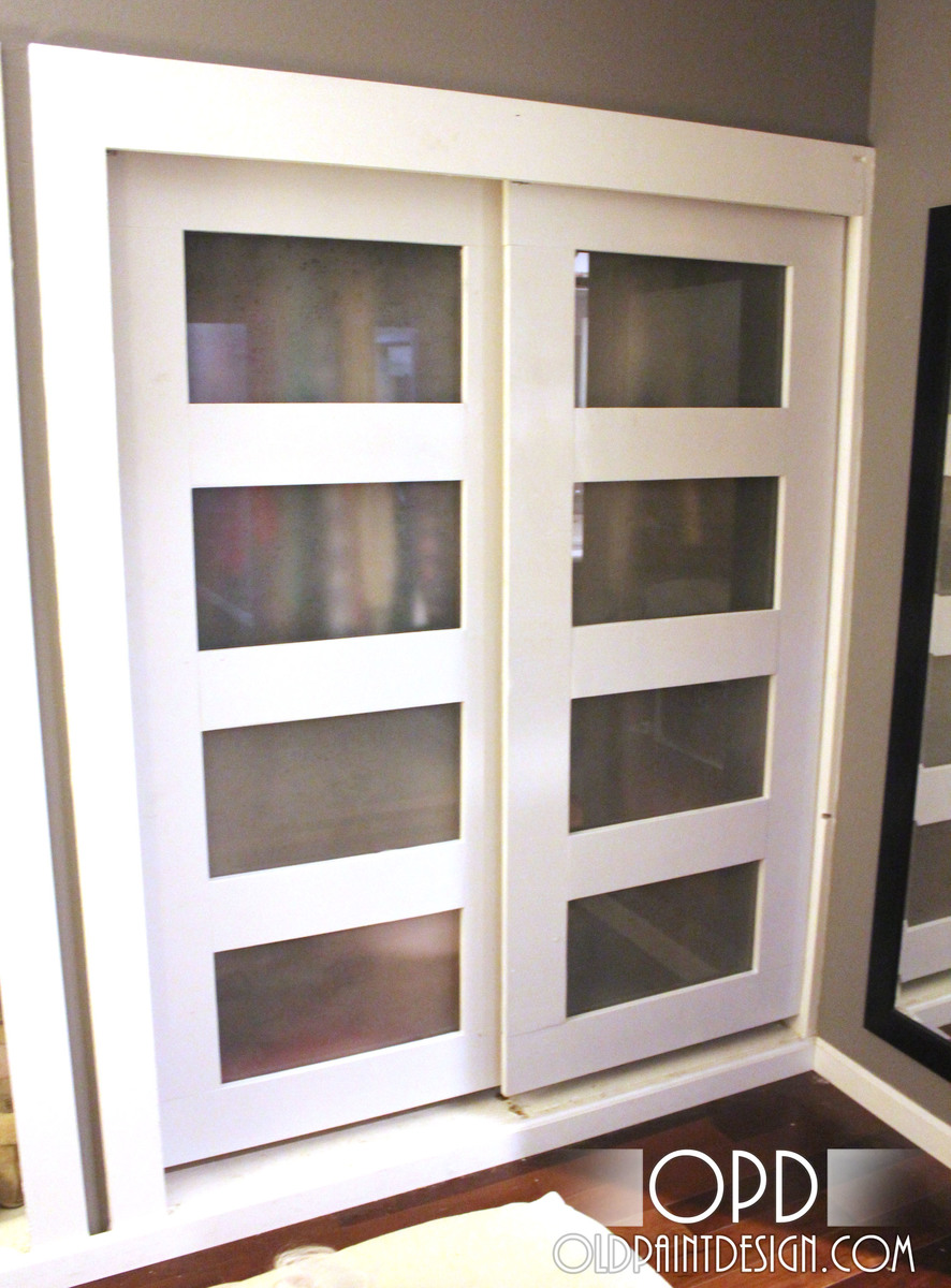 Ana White | Build a Bypass Closet Doors | Free and Easy DIY ...