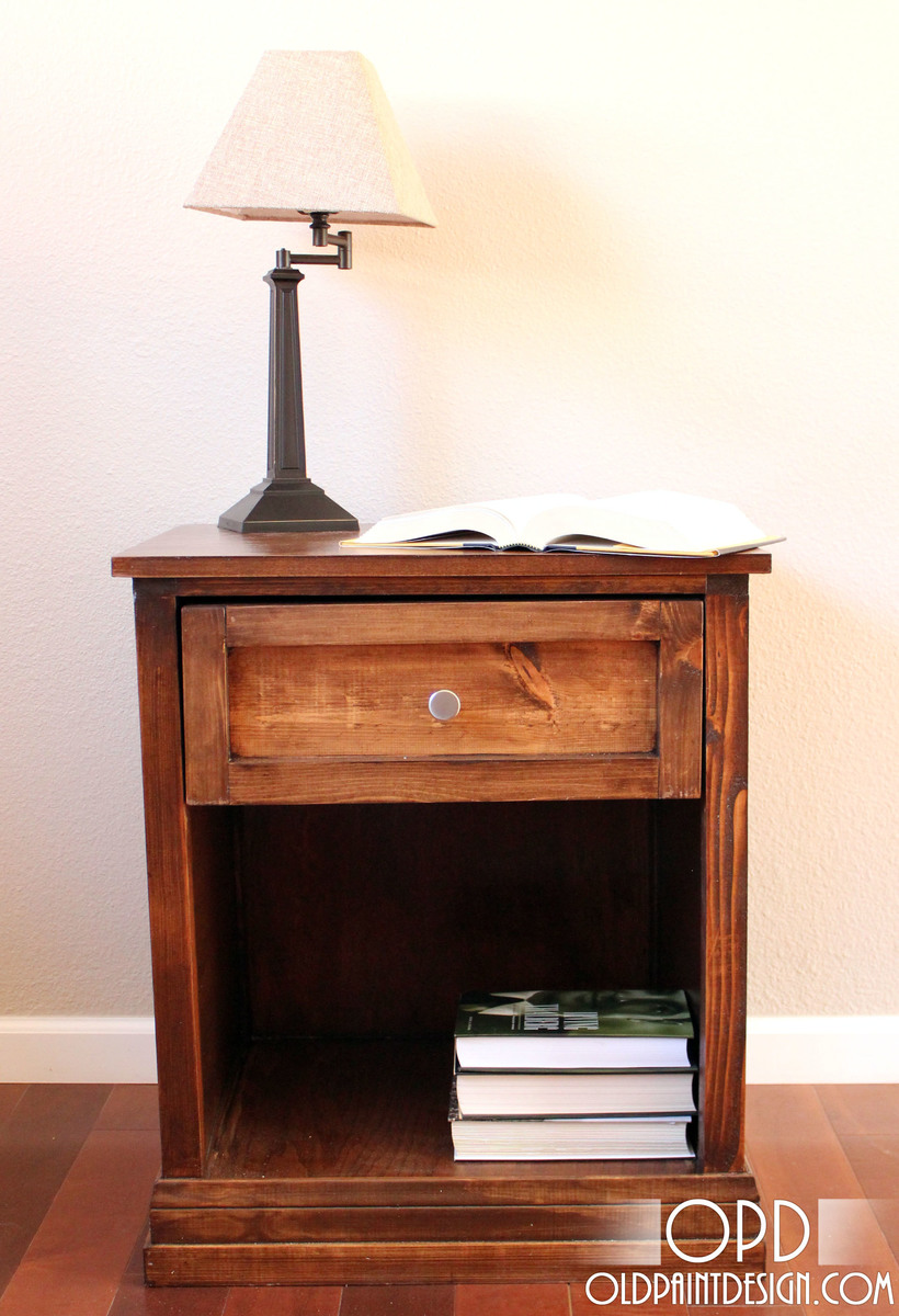 Free Furniture Plans Bedside Table Woodworker Magazine