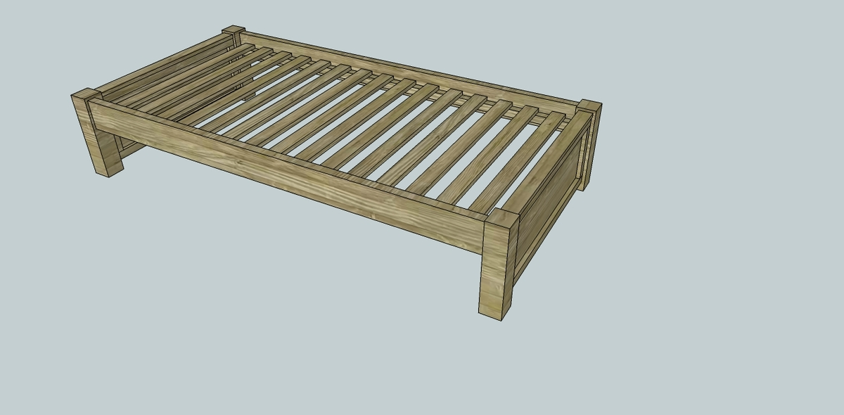 Woodwork build your own twin platform bed plans pdf for How to make your own platform bed