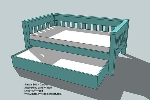 free trundle bed plans