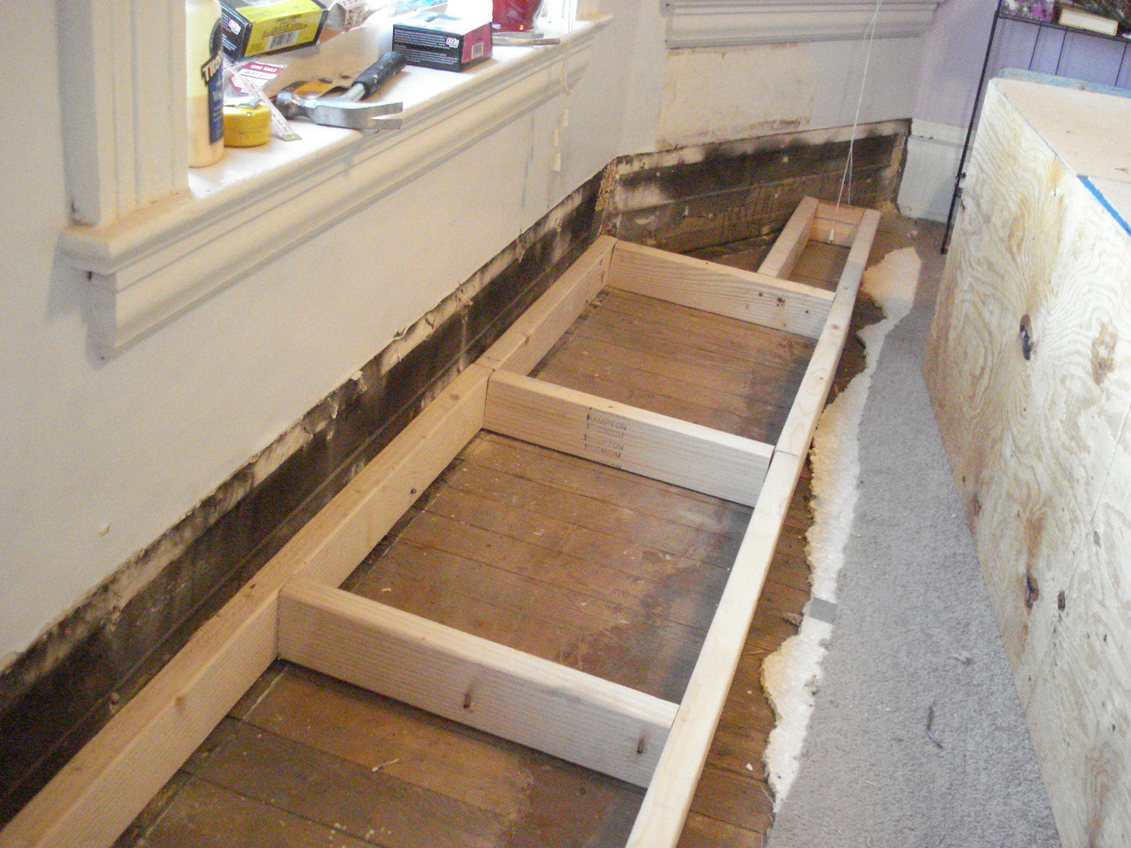 Awesome Your Kitchen By Building Window Seat  WoodWorking