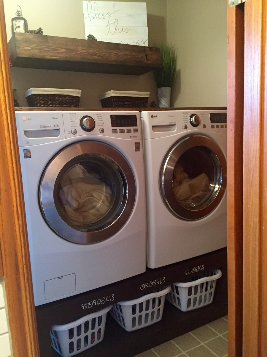 Washer And Dryer Pedestal Ana White
