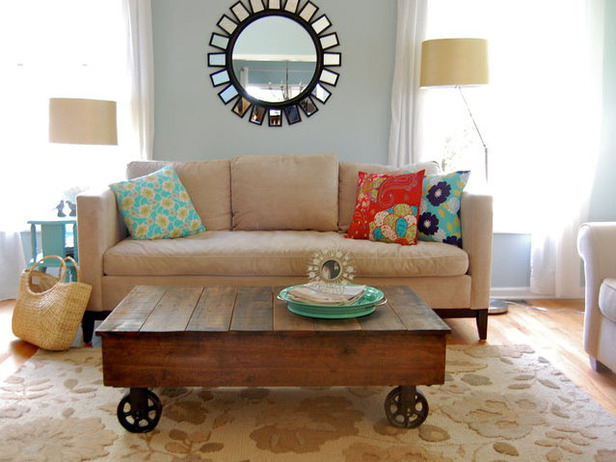 coffee table on casters plans