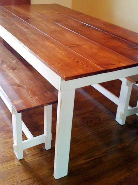 dining table rustic dining table plans