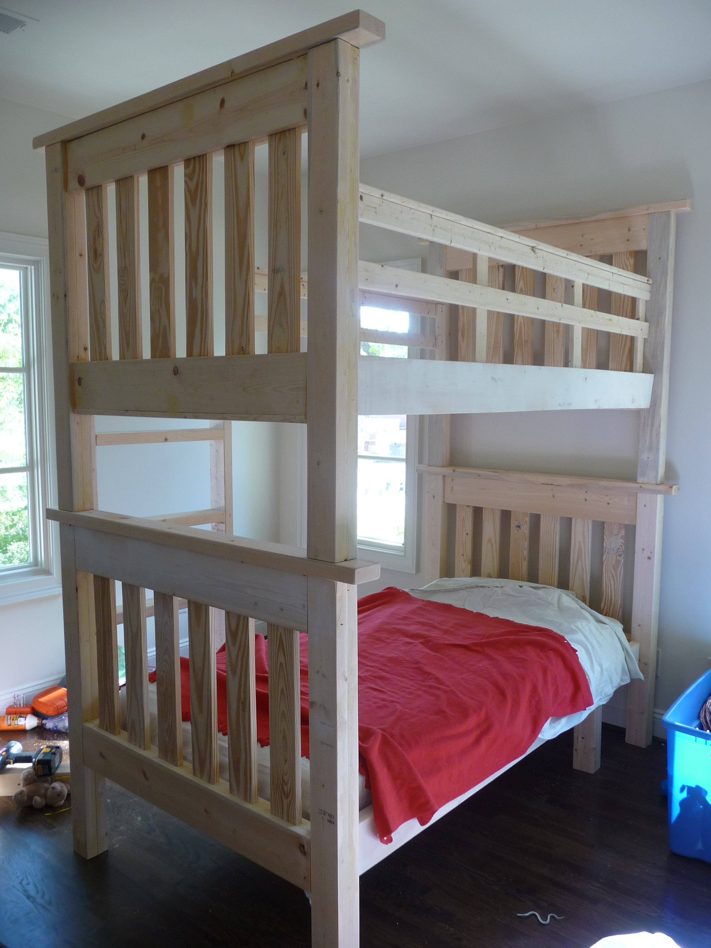 So, here I am in search of a bunk bed on the cheap and a plan ...