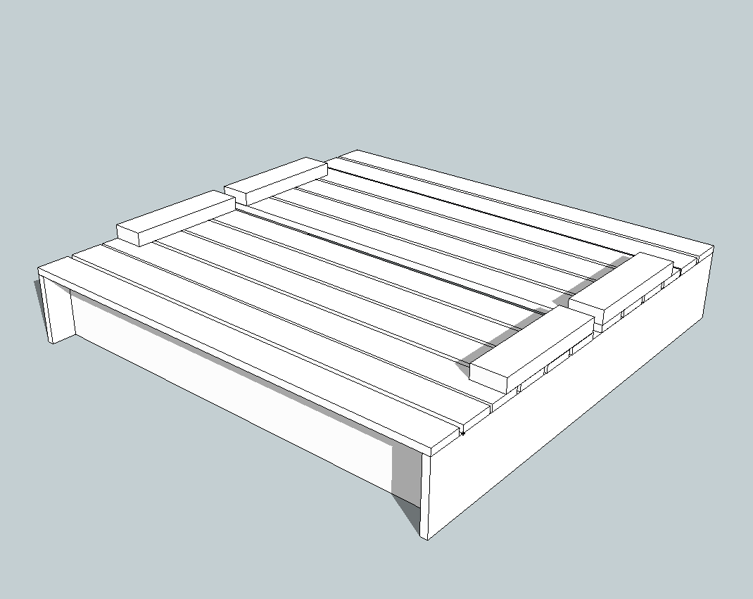plans on how to build a sandbox