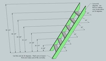 plans build bunk bed ladder