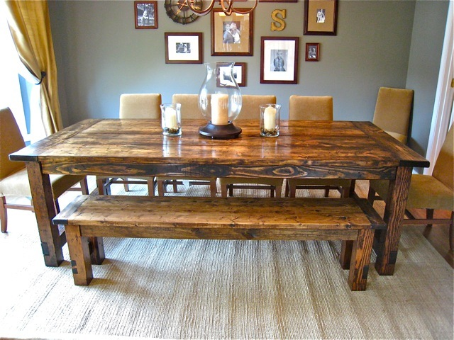 Very Best DIY Farmhouse Dining Table 640 x 480 · 129 kB · jpeg