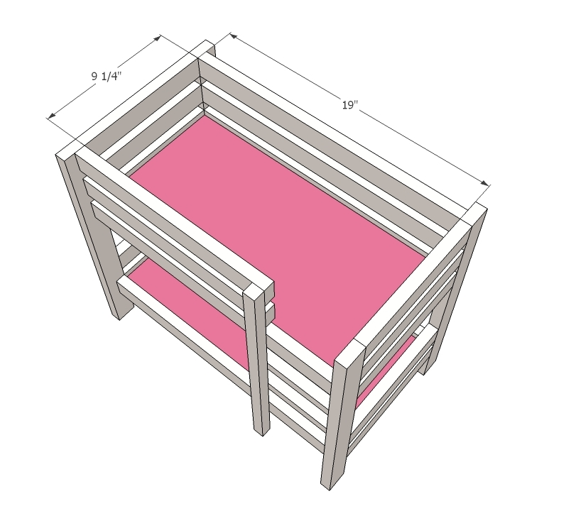 Bunk Beds For American Dolls - Baby Dolls Ideas