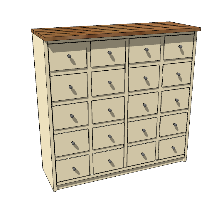 apothecary cabinet plans free