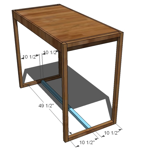 build your own bar table