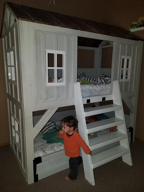 Cabin Bed Bunk Beds Ana White