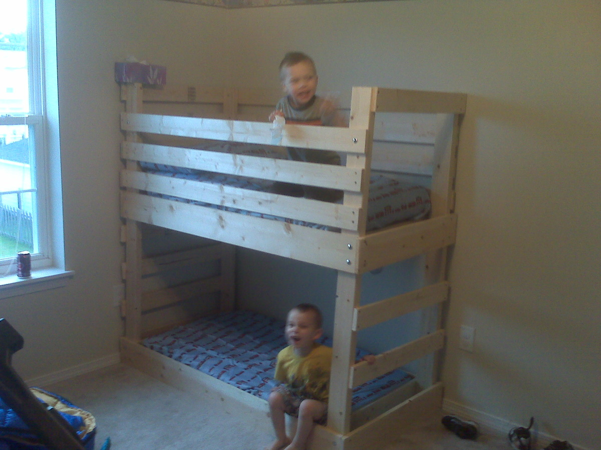 Toddler Crib Size Bunk Beds 1600 x 1200