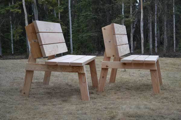 Bench Picnic Table Convert Plan