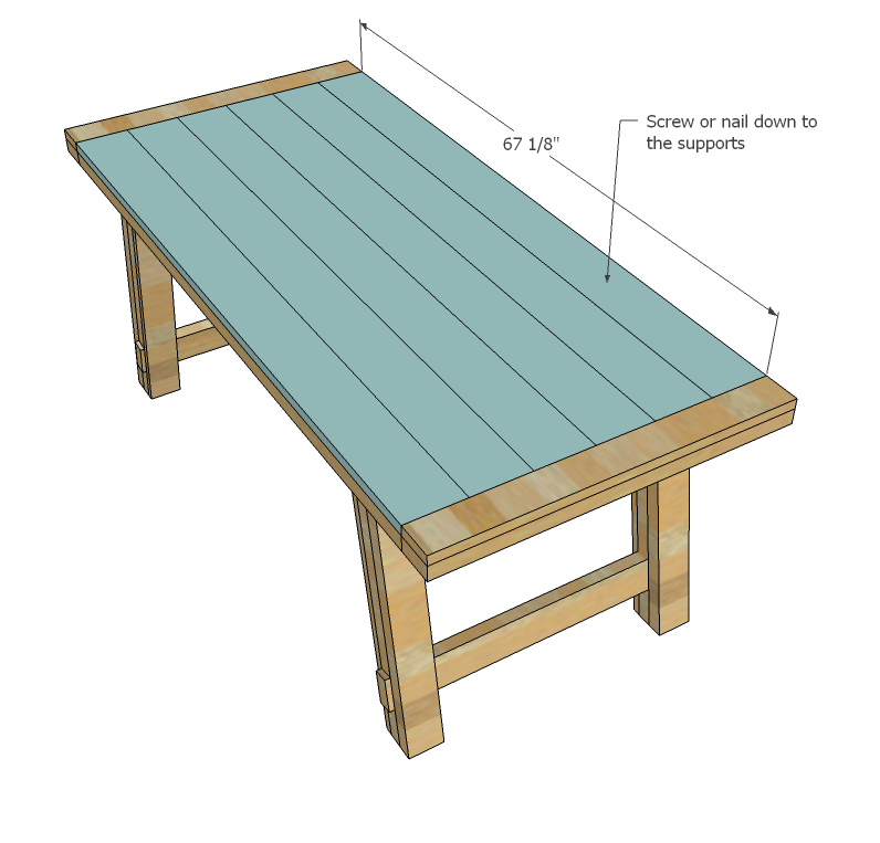 how to build a wood table plans
