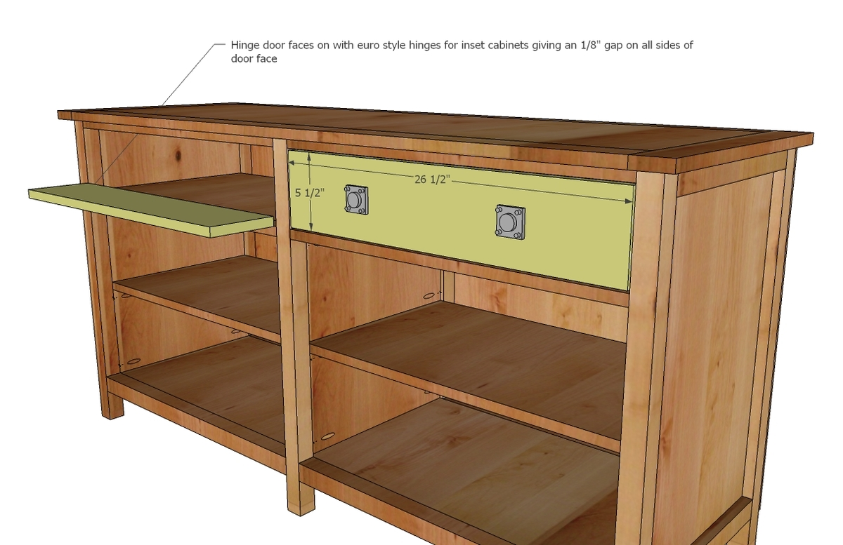 woodworking plans media console