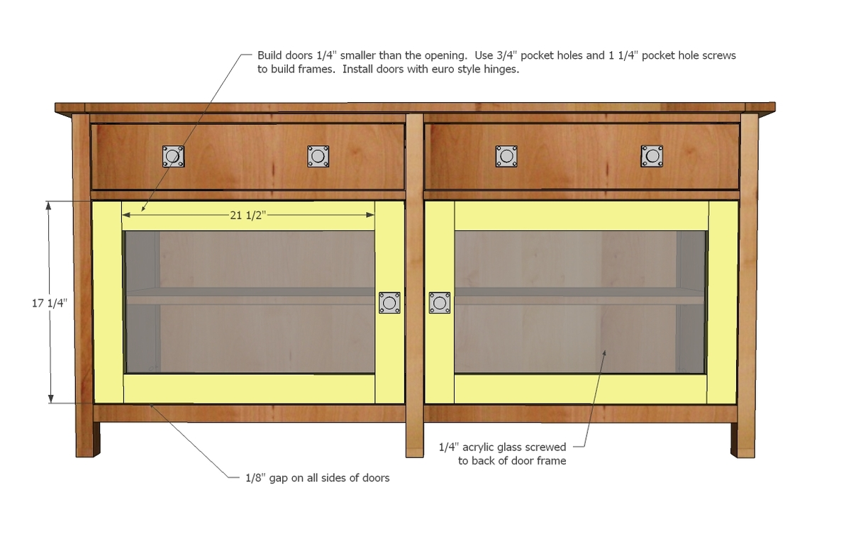 Woodworking woodworking plans media console plans pdf download free woodworking plans to - Media consoles for small spaces plan ...