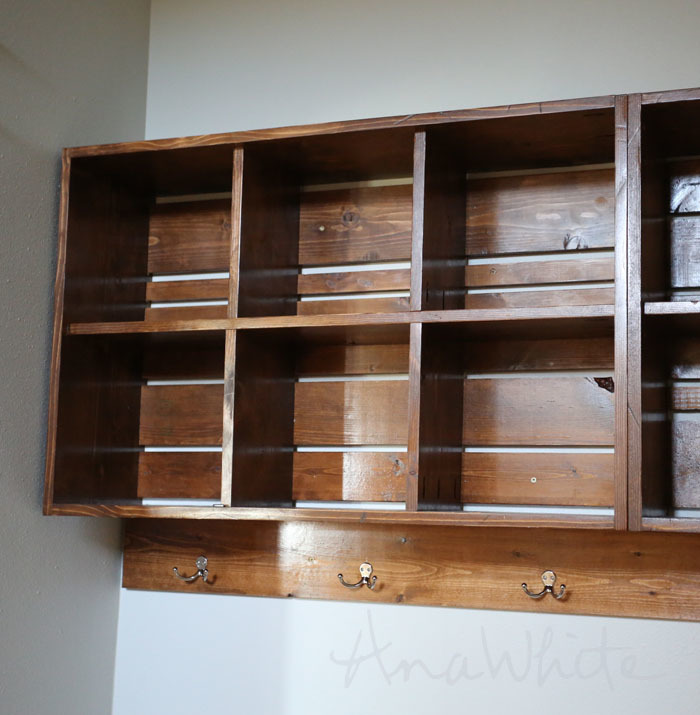 Fabulous Ana White | Wall Cubby Crate Shelves - DIY Projects NG29