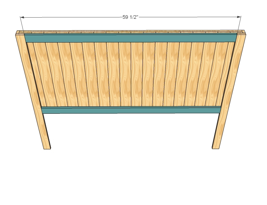 How to Build Queen Headboard Plans Plans Woodworking wood ...