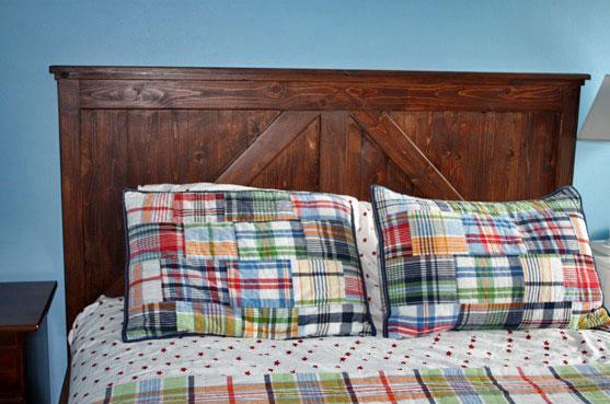 make your own queen headboard