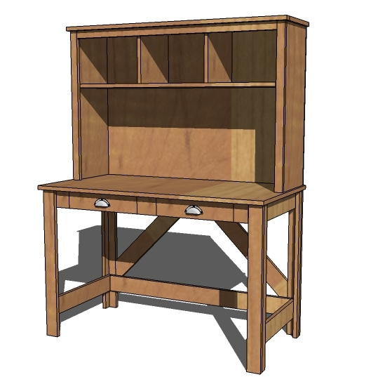 build a computer desk or writing desk for your home
